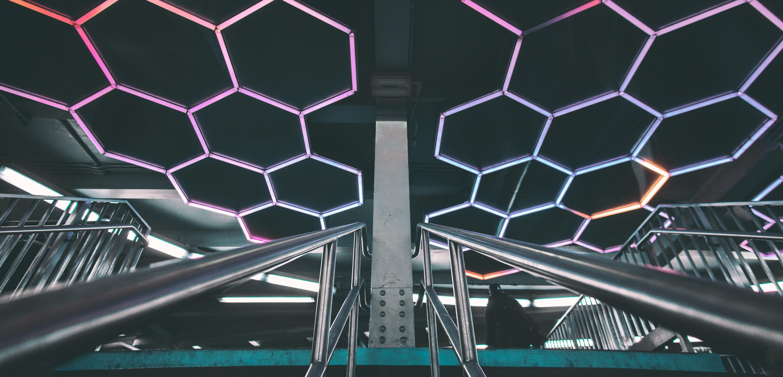 metal_neon cubes